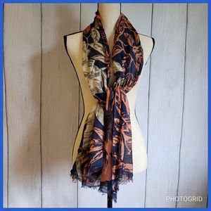 Banana Republic Silk and Wool Blend Scarf